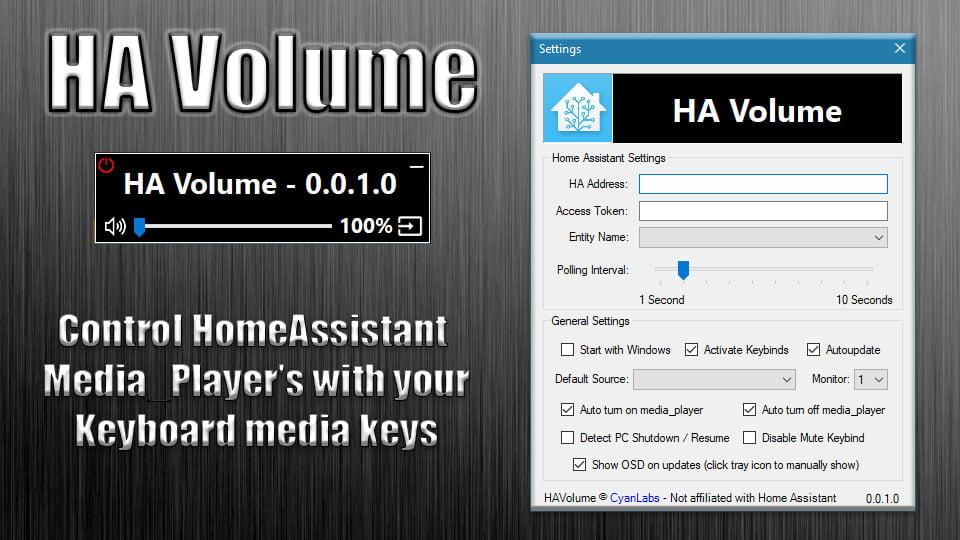 HA Volume | CyanLabs